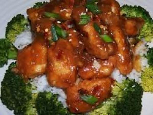 Oven Baked General Tso's Chicken Recipe