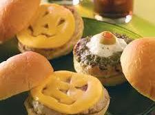Kid's Favorite Slider/burger For Halloween Recipe