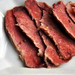 Corned Beef Brisket.