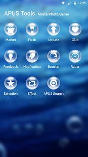 Drops-APUS Launcher theme
