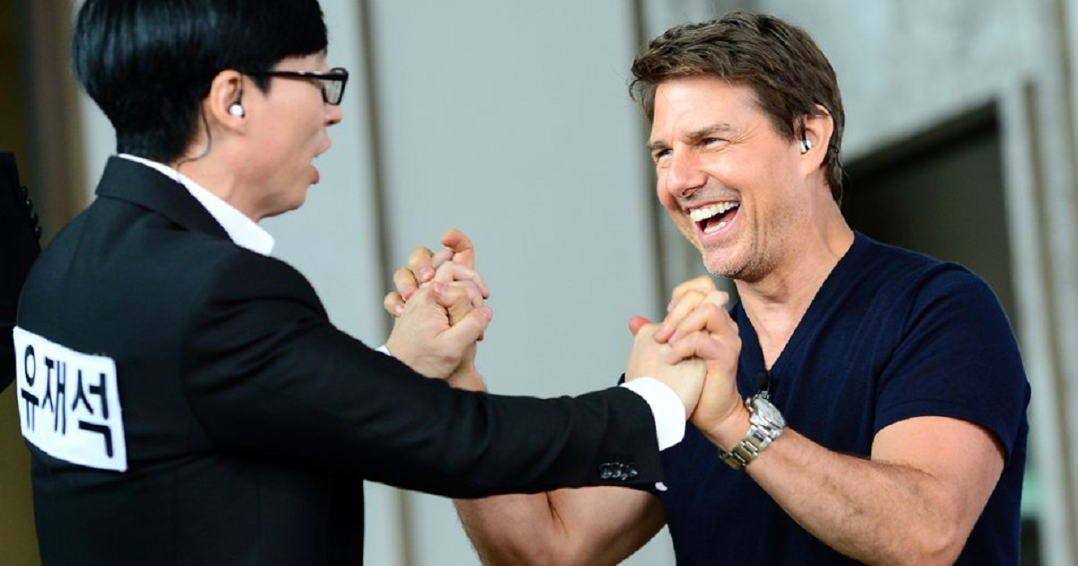 Running Man Releases Preview Clip Of Episode With Tom Cruise