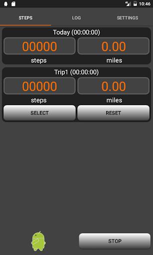 Walkroid - simple pedometer screenshot