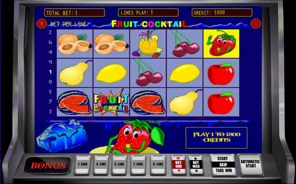fruit cocktail для андроид