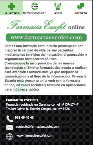 Farmacia Escofet