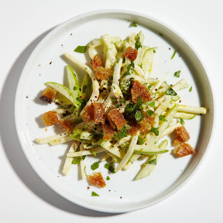 Celery Root Salad with Apples and Parsley