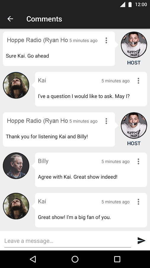 Hoppe Radio- screenshot