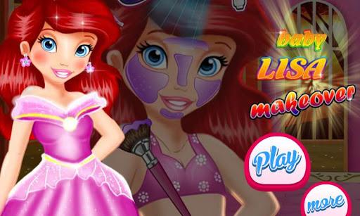 Baby Lisa Makeover Girl Games