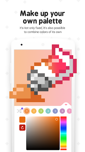 Pixel ColorFil: Color by Number screenshots 5