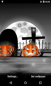 Halloween Live Wallpaper Gratis