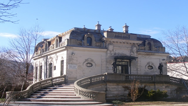 George Enescu house in Bucharest, Romania