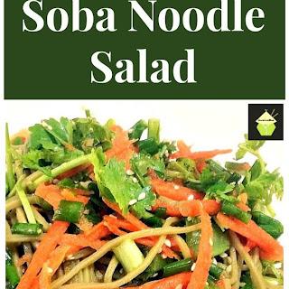 Sesame Soba Noodle Salad