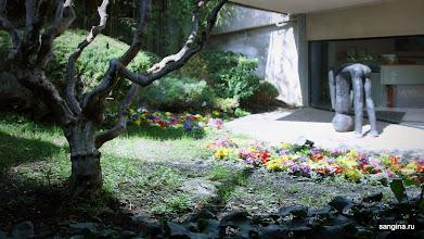 Photo: Влияние восточной культуры ощущается во всех помещения и снаружи здания Pébéo