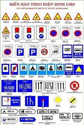 biển báo giao thông giá rẻ tại Bình Định