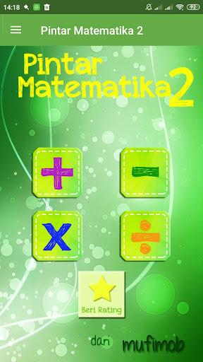 Pintar Cerdas Matematika 2 1.6 screenshots 1