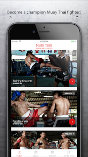 Muay Thai Training & Technique- screenshot thumbnail