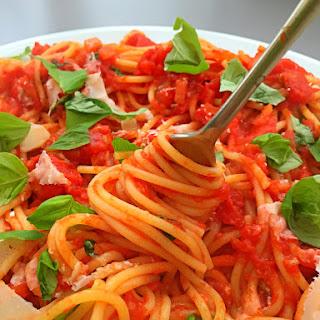 Spaghetti Alla Marinara.