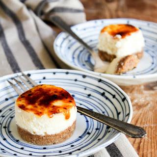 Mini Cheesecake Brulee