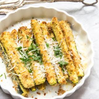 Zesty Parmesan Baked Zucchini Sticks Recipe