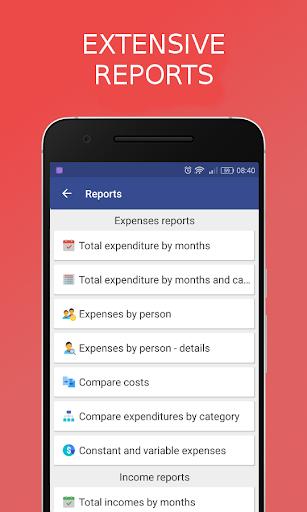 Income vs Expenses - budget & finance manager screenshot 3