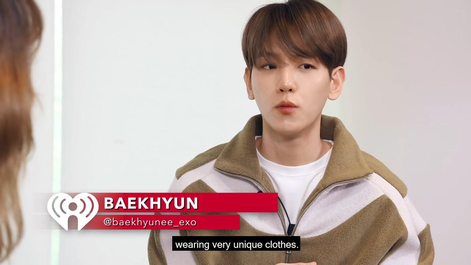exo baekhyun iheartradio 1