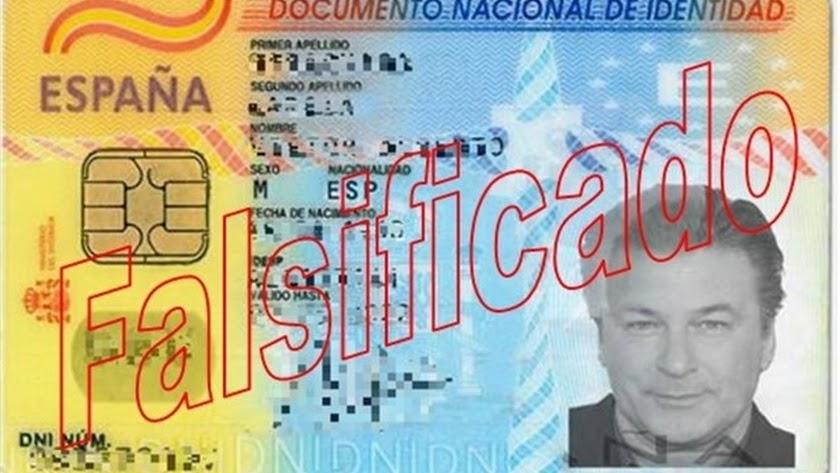 El falsificador se valía de la imagen del popular actor.