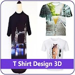 T Shirt Design 3D Icon