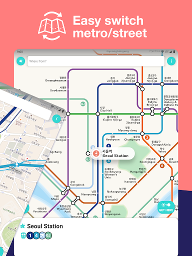 Seoul Metro Subway Map and Route Planner screenshot 8