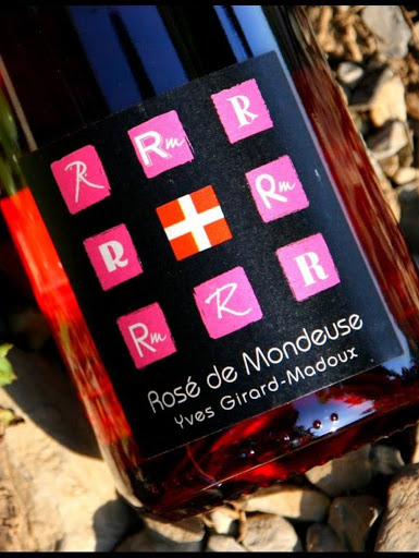 Rosé AOP - Cépage Mondeuse - Domaine Yves Girard-Madoux - Vignoble de la Pierre - Vin de Savoie - Chignin