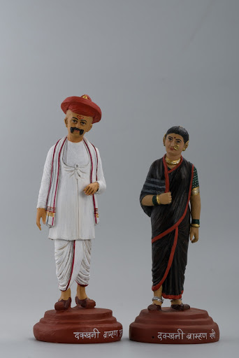Model of a Brahmin couple from Deccan
