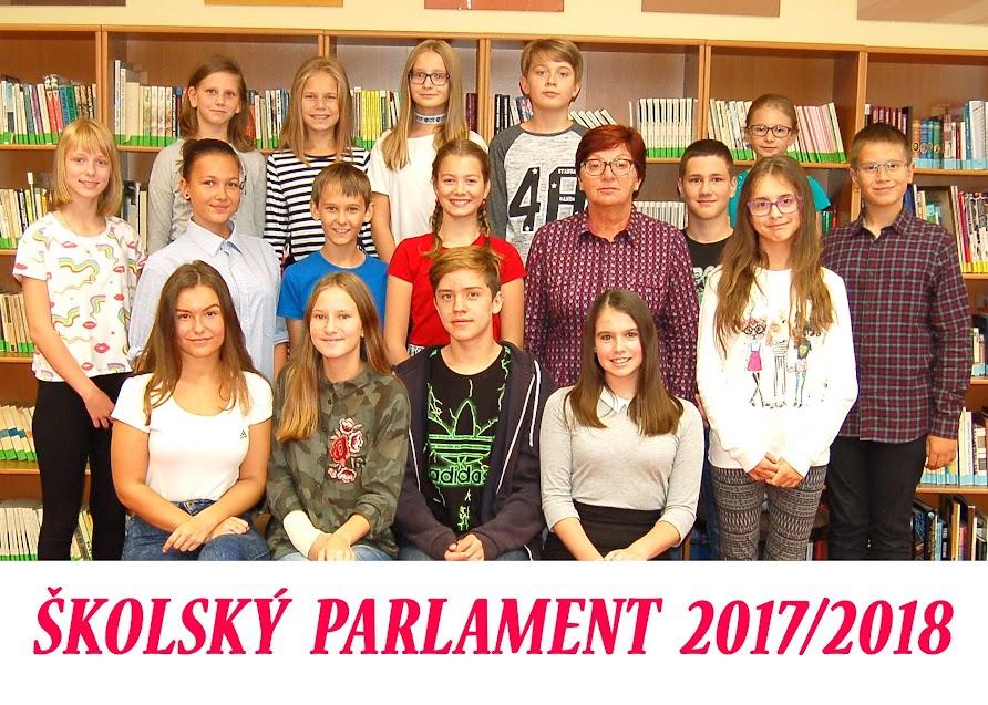 Školský parlament 2017 – 2018