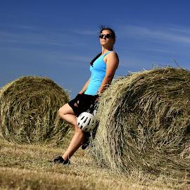 Autumn Moments #2 by Ovidiu Gruescu - Sports & Fitness Cycling