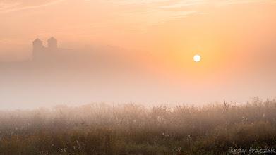 Photo: Wschód słońca nad Tynieckim Opactwem