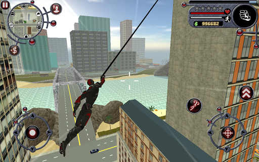 Rope Hero Screenshot