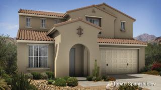 Topaz II floor plan Encore II Collection by Taylor Morrison Homes in Adora Trails Gilbert AZ 85298