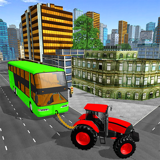 Towing Tractor Simulator: Tractor Pull Bus Game