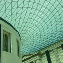 Glass Ceiling Of The British Museum