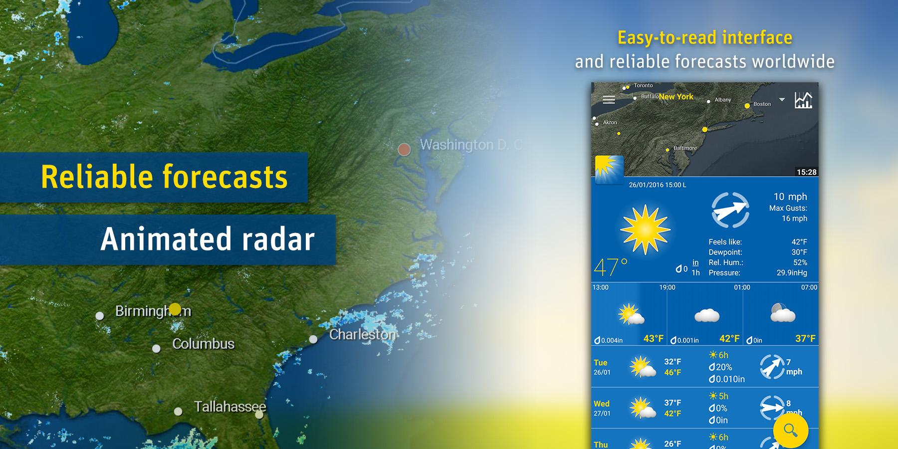 WeatherPro screenshot #1