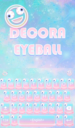 Decora Eyeball Keyboard Theme
