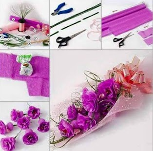 DIY Flower Craft Ideas- screenshot thumbnail