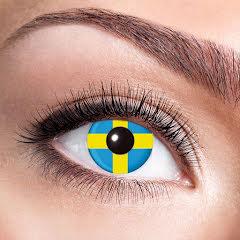 Färglinser, Svenska flaggan