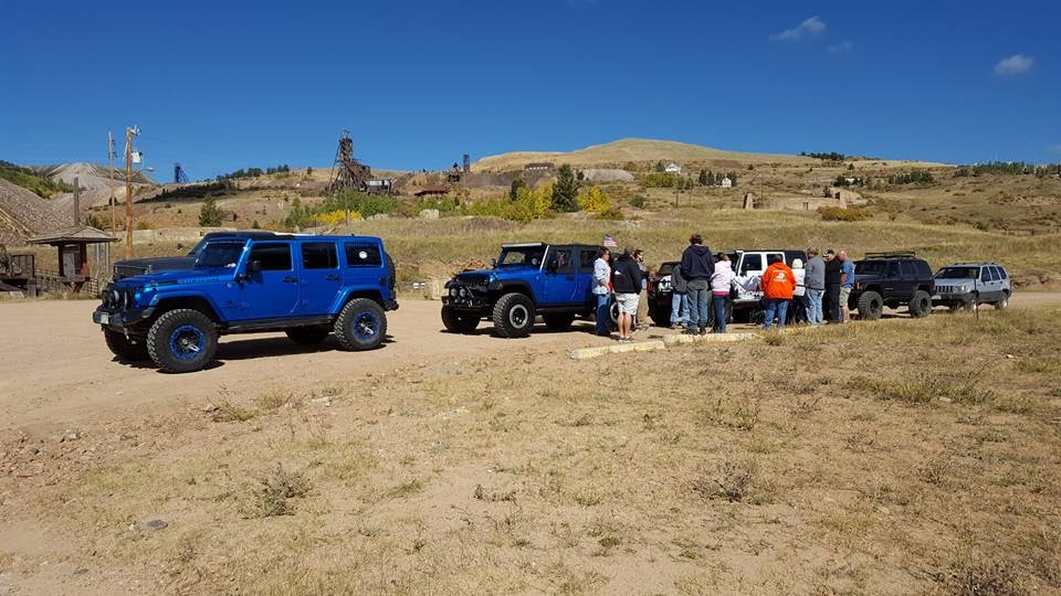 Mining District Near Victor Colorado