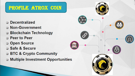 Atroxcoin Mobile Application - náhled