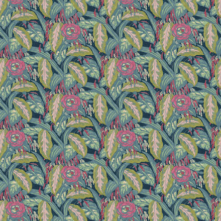 Les Fauves av Linwood - cerulean