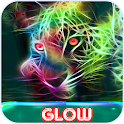 Glow the GIF: Art of Neon Color Drawing icon