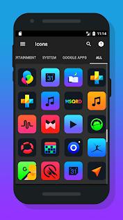 Burm - Icon Pack Додатки для Android screenshot
