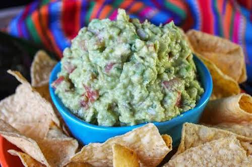 """Holy Guacamole! """"I've spent years perfecting my guacamole. It's always a hit..."""