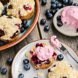Fluffy Whipped Blueberry Butter