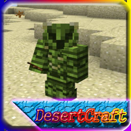 Desert Craft MCPE Mod Guide