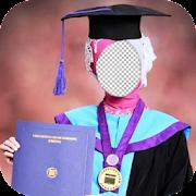 Hijab Graduation Day Photo Frames