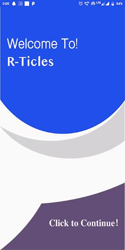 R- Ticles screenshot 2